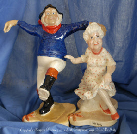 Jolly Fisherman figurine Copyright Donnas Peterson 2012